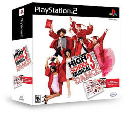 Disney High School Musical 3 Senior Year DANCE! [Mat Bundle] (PS2)