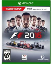 Codemasters F1 Formula 1 2016 [Limited Edition] (Xbox One)