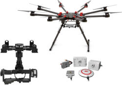 DJI Spreading Wings S1000 Octocopter si Controller A2
