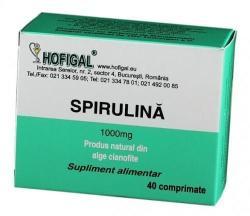 Hofigal Spirulina 1000mg - 40 comprimate