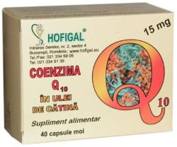 Hofigal Coenzima Q10 in ulei de catina 15mg - 40 comprimate