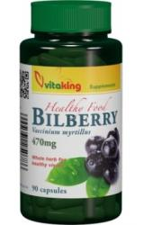 Vitaking Bilberry 470mg (Afin negru) - 90 comprimate
