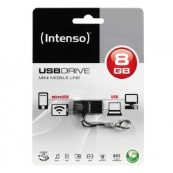 Intenso Mini Mobile Line OTG 8GB USB 2.0 3524460