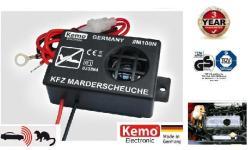 Kemo M100N 12V ultrahangos nyestriasztó piezo hangszóróval