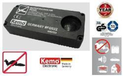 Kemo Mobil ultrahangos nyestriasztó, elemes egér és rágcsáló riasztó  55m2