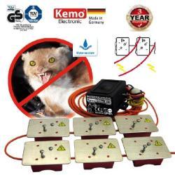 Kemo M176 12V ultrahangos nyestriasztó 6db nagyfeszültségú lappal
