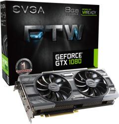 EVGA GeForce GTX 1080 FTW GAMING ACX 3.0 8GB GDDR5X 256bit PCIe (08G-P4-6286-KR)