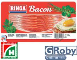 RINGA Szeletelt bacon vákumfóliában 150g