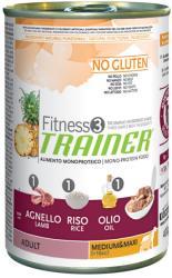 TRAINER Fitness 3 Adult Medium & Maxi - Lamb & Rcie 12x400g