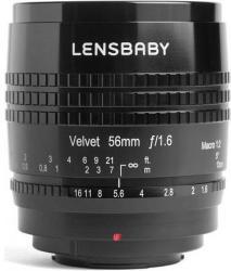 Lensbaby Velvet 56mm f/1.6 (Micro)