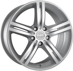 Mak Veloce Silver CB56.6 5/105 17x7.5 ET40