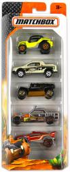Mattel Matchbox - 5db-os kisautó készlet - Sivatagi járművek