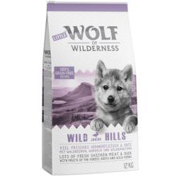 Wolf of Wilderness Junior Wild Hills 2x12kg