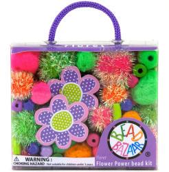 Bead Bazaar Virágos gyöngy csokor - szivárvány