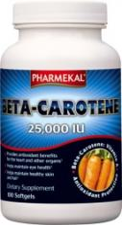 Pharmekal Beta-Carotene 25000IU kapszula - 100 db