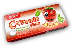 Bioeel C-Vitamin 100mg rágótabletta - 20 db