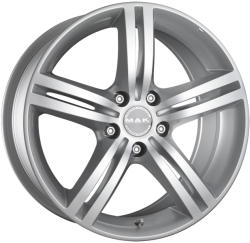 Mak Veloce Silver CB56.6 5/105 16x6.5 ET39