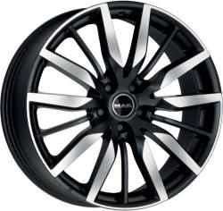 Mak Barbury Ice Black CB63.4 5/108 20x8.5 ET45
