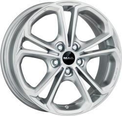 Mak Hessen Silver CB56.6 5/105 17x7 ET42