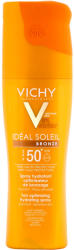 Vichy Ideal Soleil barnulást segítő hidratáló spray SPF 50 200ml