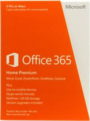 Microsoft Office 365 Home Premium ROU 6GQ-00798