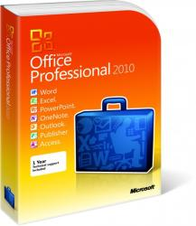 Microsoft Office Professional 2010 269-05823