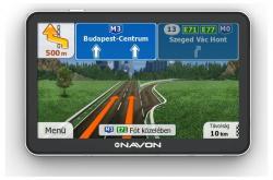 Navon N670 Plus iGO Primo FEU LT