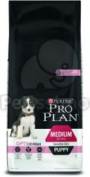 PRO PLAN OptiDerma Medium Puppy Sensitive Skin 3x12kg