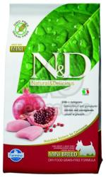 Farmina N&D Grain Free Adult Mini Chicken & Pomegranate 800g