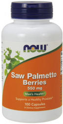 NOW Saw Palmetto Berries kapszula - 100 db