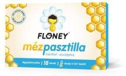 Floney Mézpasztilla Menthol-Eucalyptus - 18 db