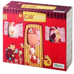 Lilliputiens Cub'Uzzle kocka kirakó (86411)