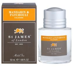 St. James of London Mandarin & Patchouli EDC 50ml