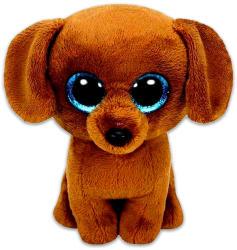 TY Inc Beanie Boos - Dougie, a  barna tacskó 15cm (TY36191)