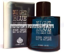 Real Time Night Blue Mission EDT 100ml