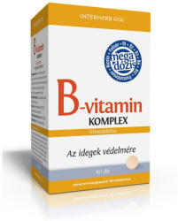 INTERHERB Vital B-vitamin Komplex tabletta - 60 db