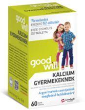 Goodwill Pharma Kft. Kalcium tabletta gyermekeknek - 60 db