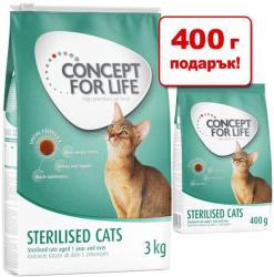 Concept for Life British Shorthair 3,4kg