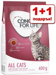 Concept for Life Indoor Cats 2x400g