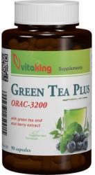 Vitaking Green Tea Plus - Complex Antioxidant cu Ceai Verde - 90 comprimate