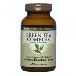 GNC Herbal Plus Standardized Green Tea Complex - 100 comprimate