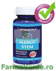 Herbagetica Alergy Stem - 60 comprimate