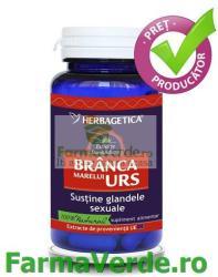 Herbagetica Branca Marelui Urs - 30 comprimate
