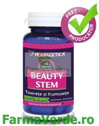 Herbagetica Beauty Stem - 60 comprimate