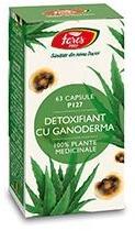 Fares Detoxifiant cu ganoderma - 60 comprimate