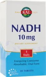 KAL NADH 10mg - 30 comprimate