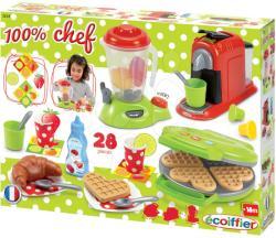 Ecoiffier Chef reggeli készítő játékszett (2624)