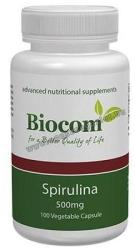 Biocom Spirulina 500mg kapszula - 100 db