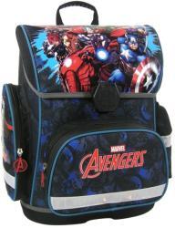 DERFORM Avengers - Bosszúállók ergonómikus iskolatáska, csatos (TECAV11)