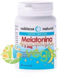 Noblesse Natural Melatonina - 30 comprimate